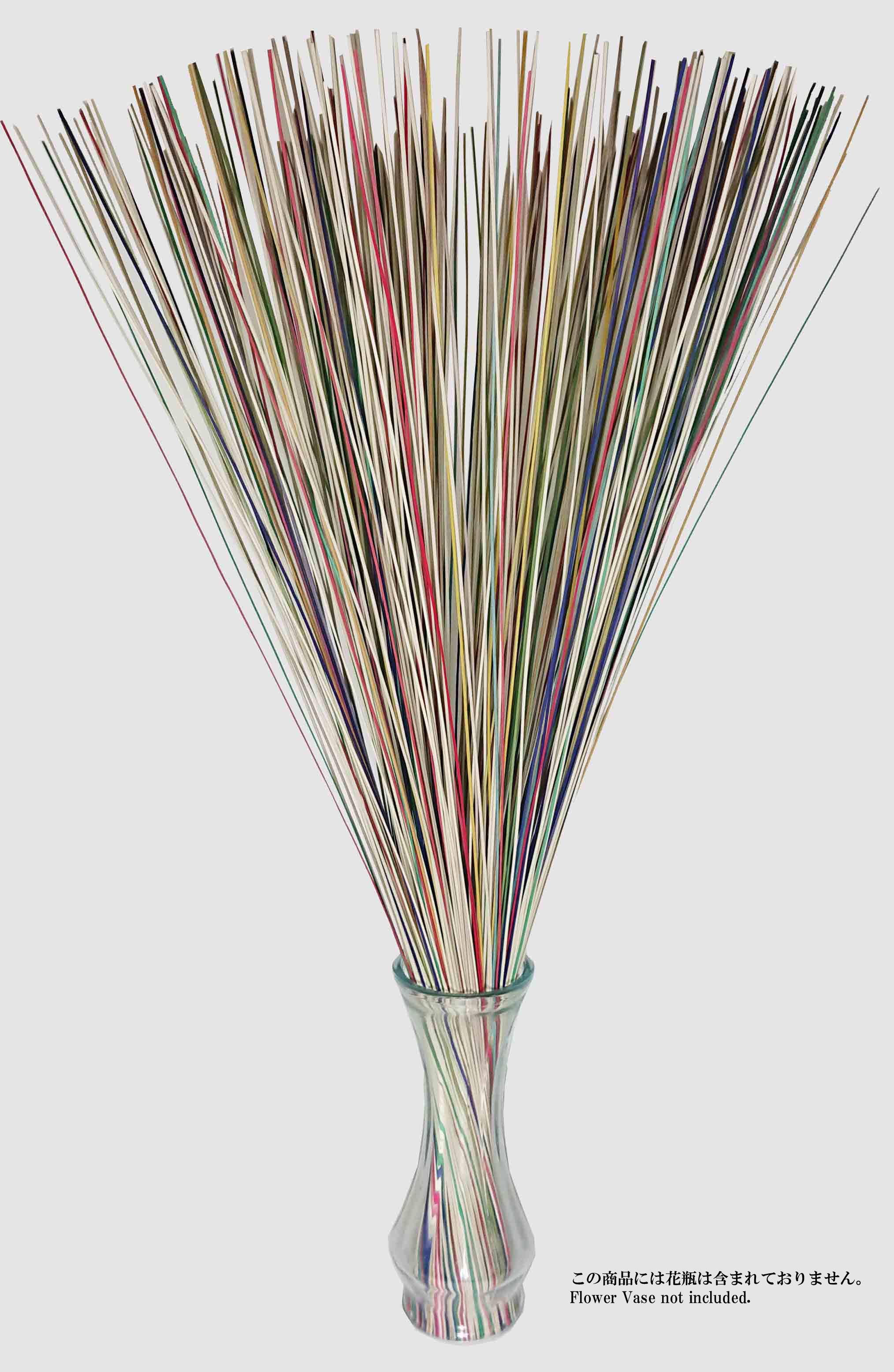 【イ草フラワー 全カラー】Rush Grass Flower Mixed 70cm