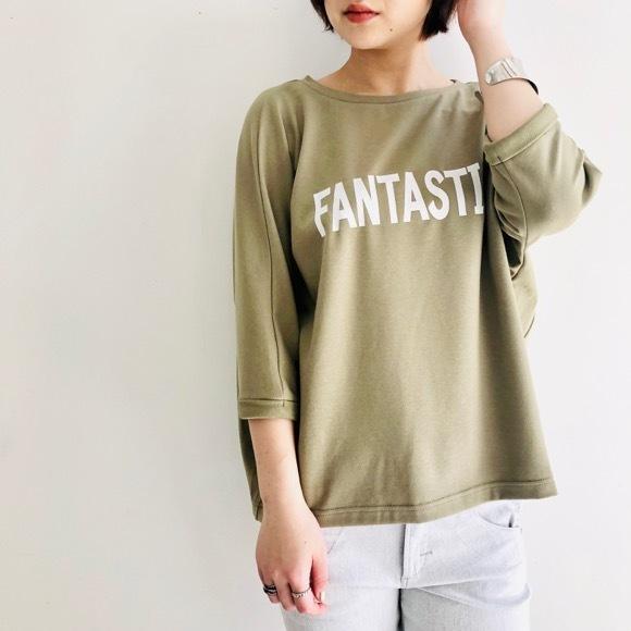 【 QTUME 】FANTASTIC TEEシャツ