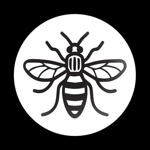ゴーバッジ(ドーム)(CD1091 - MANCHESTER BEE) - 画像1