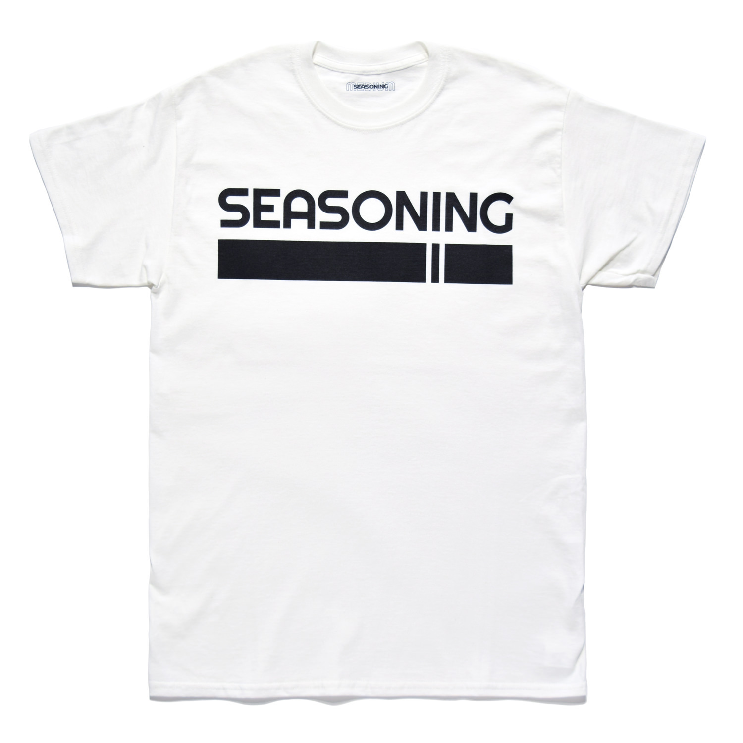 SEASONING LOGO TEE  - WHITE