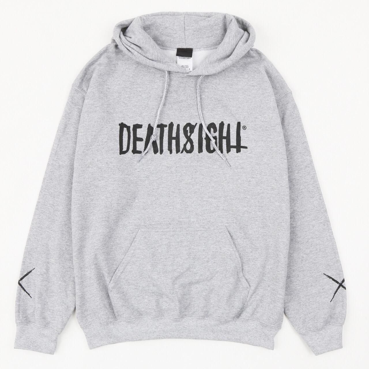 """deathsight"" HOODIE / GRAY - 画像1"