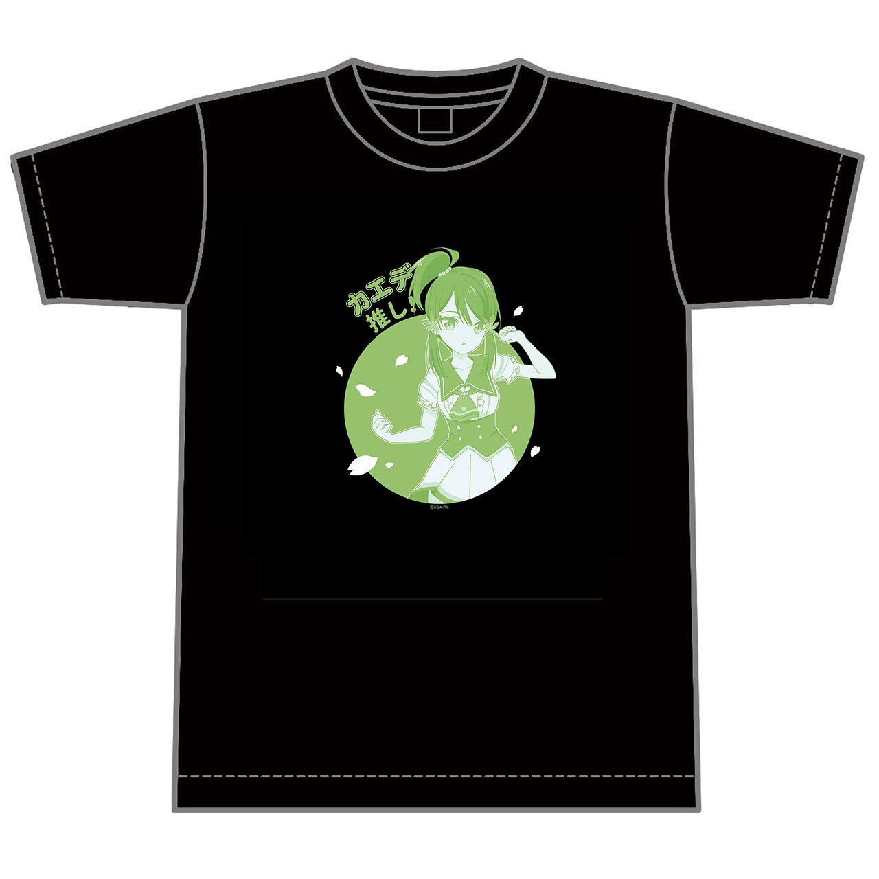 【4589839355056予】ラピスリライツ カエデ 推しTシャツ/XLサイズ