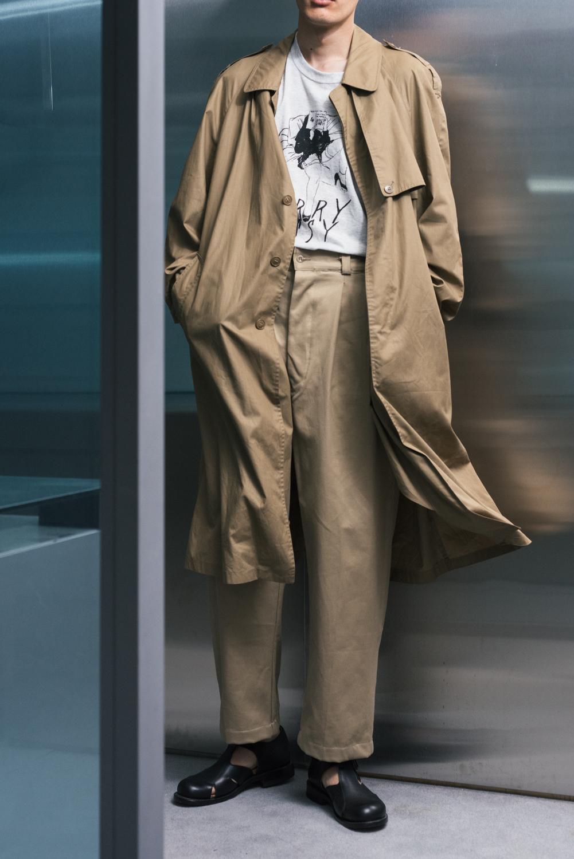 """60's """"DANIEL"""" Balmacaan Spring Coat"""
