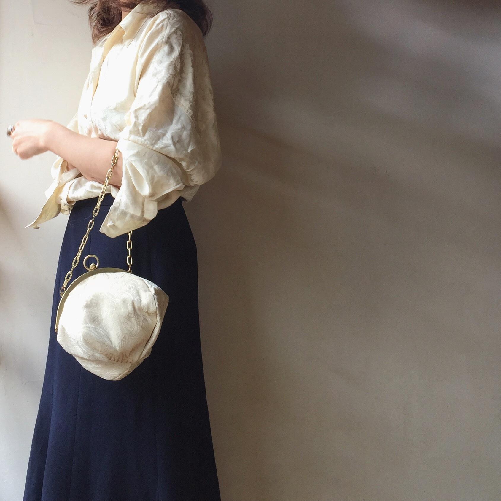vintage paisley tapestry bag