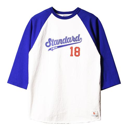 STANDARD CALIFORNIA #SD 18th Anniversary 3/4 Sleeve Baseball T