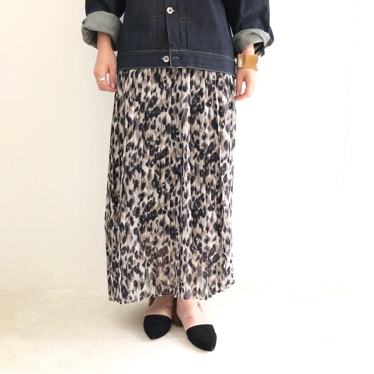 【 Days 】- 129-3621 - レオパードスカート