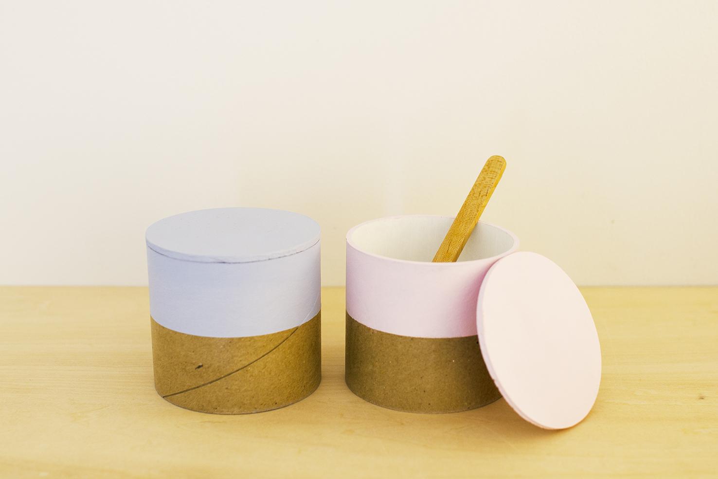 paper tube box / 西本良太