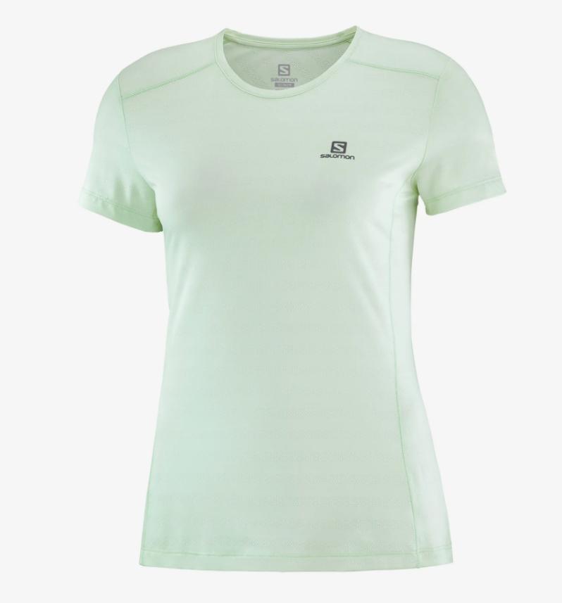 Salomon サロモン APPAREL XA TEE W OPAL BLUE ウィメンズ/レディース XA Tシャツ オパールブルー LC1481300【Tシャツ】