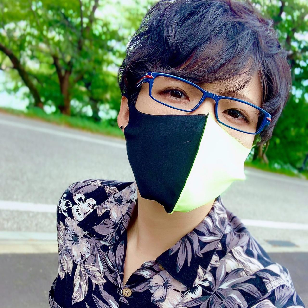 3D立体ハーフマスク