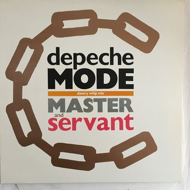 【12inch・英盤】Depeche Mode / Master and Servant (Slavery Whip Mix)