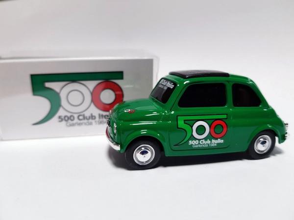 FIAT 500 CLUB ITALIA オリジナルミニカー 【1/43/グリーン】