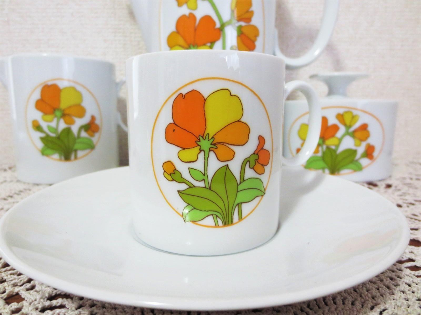 ドイツ★ローゼンタール・トーマス★メダリオンのコーヒーセット