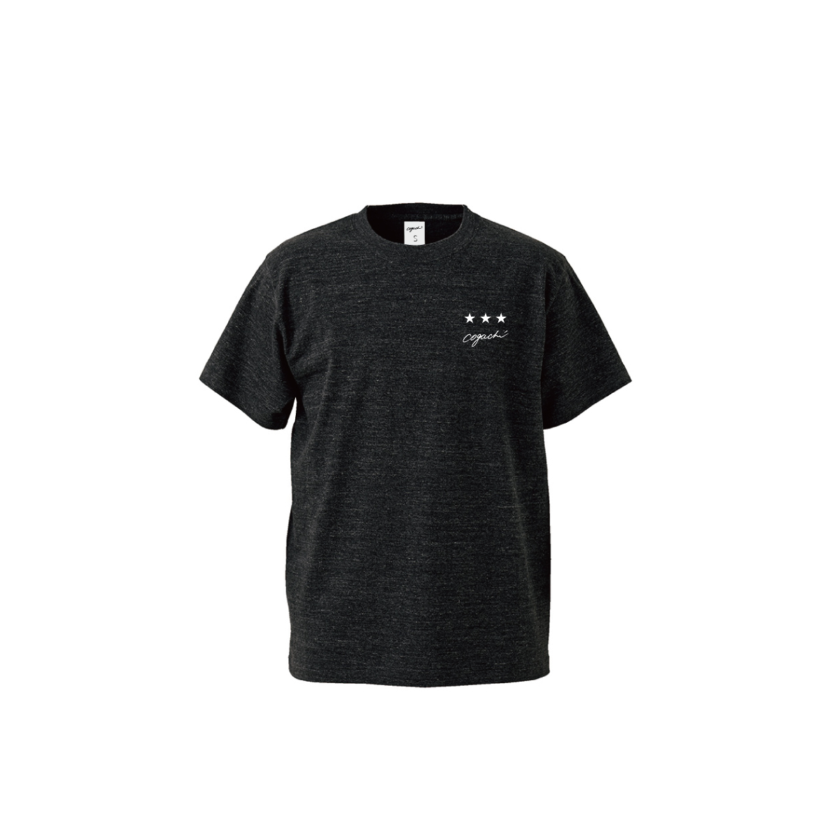 ST T-shirt(HEATHER BLACK)