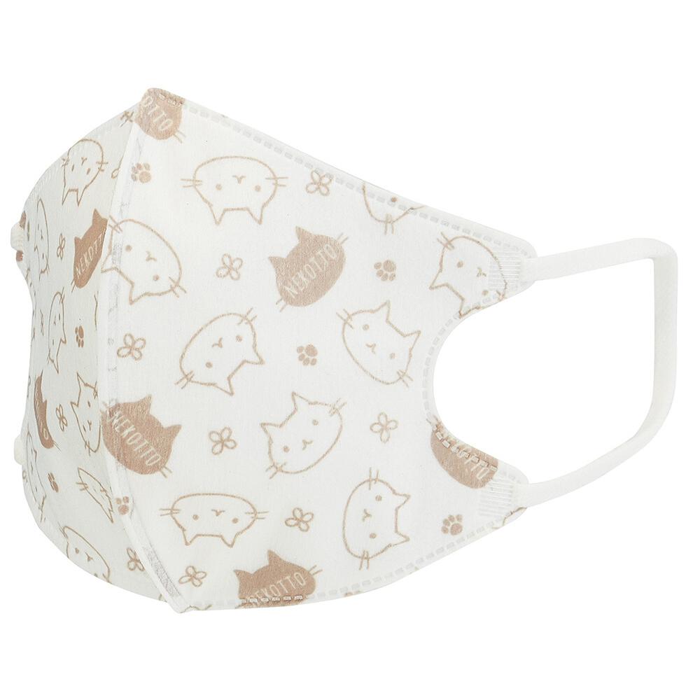 猫マスク(ねこっと不織布立体マスク)