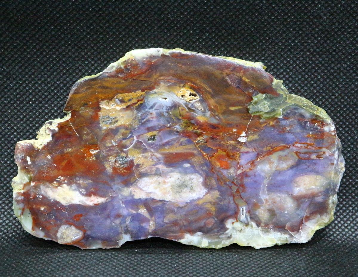 希少!パープル カウ アゲート 原石 オレゴン州産 86,3g 鉱物 AG070