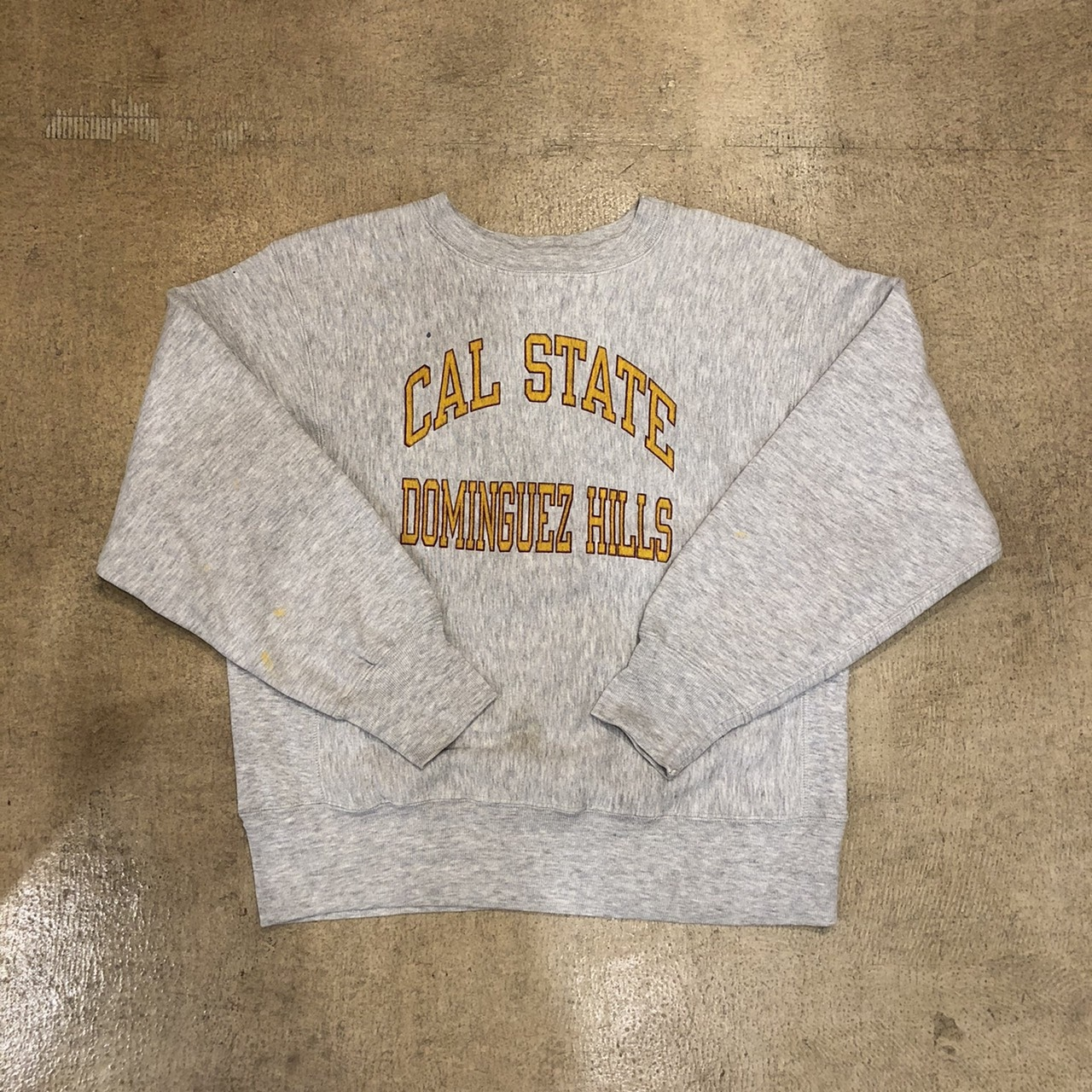 Champion Reverse Weave 80's CAL State Dominguez Hills ¥12,800+tax
