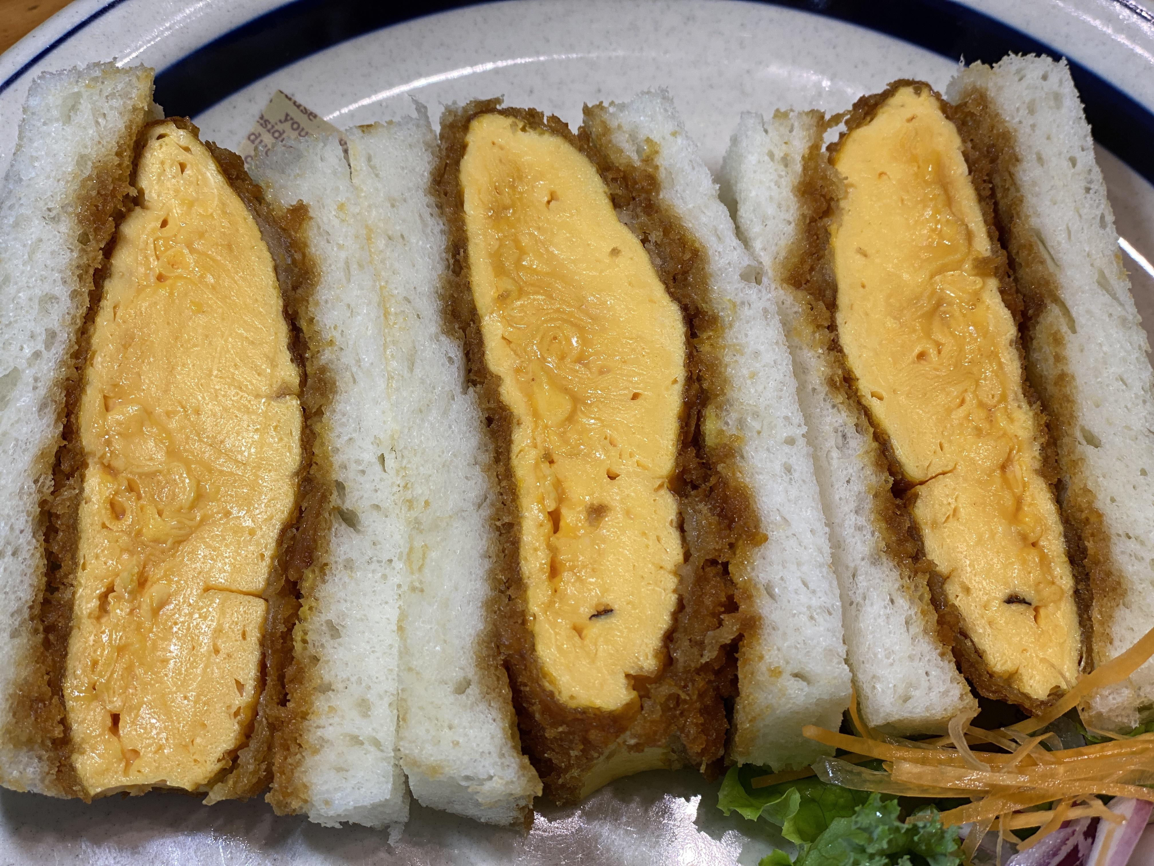 【送料無料】ロースカツ卵カツサンド