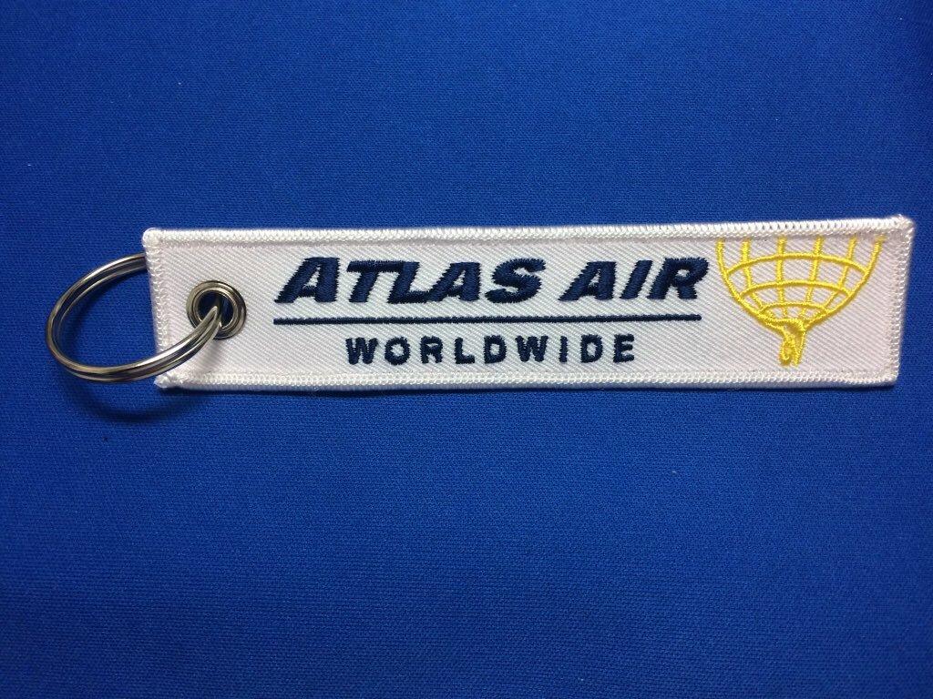 RemoveBeforeFlightキーホルダー/ATLAS AIR