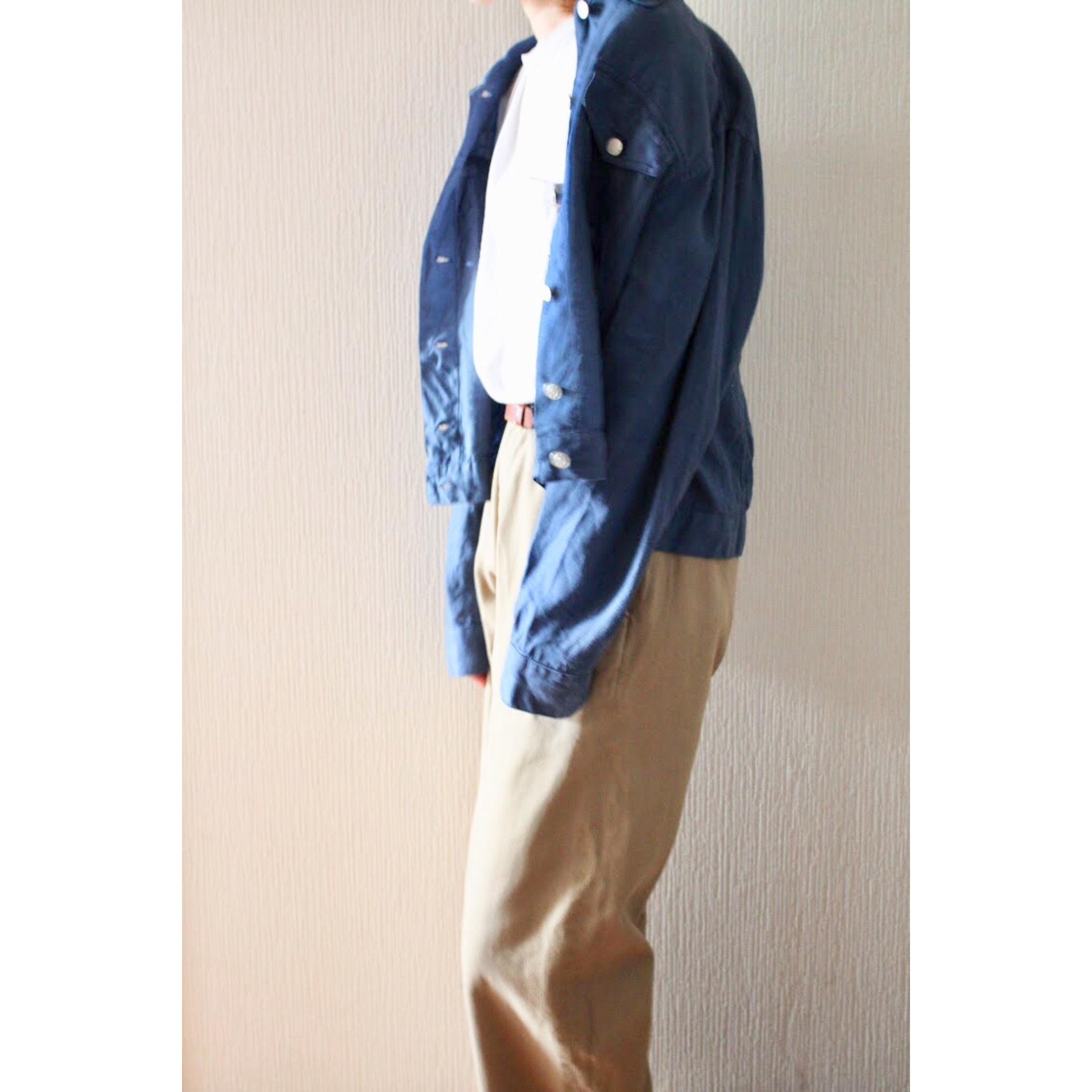 Vintage linen jacket