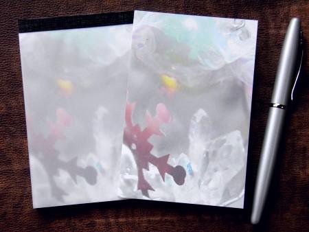 カラーメモパッド - 水晶灯 - 金星灯百貨店