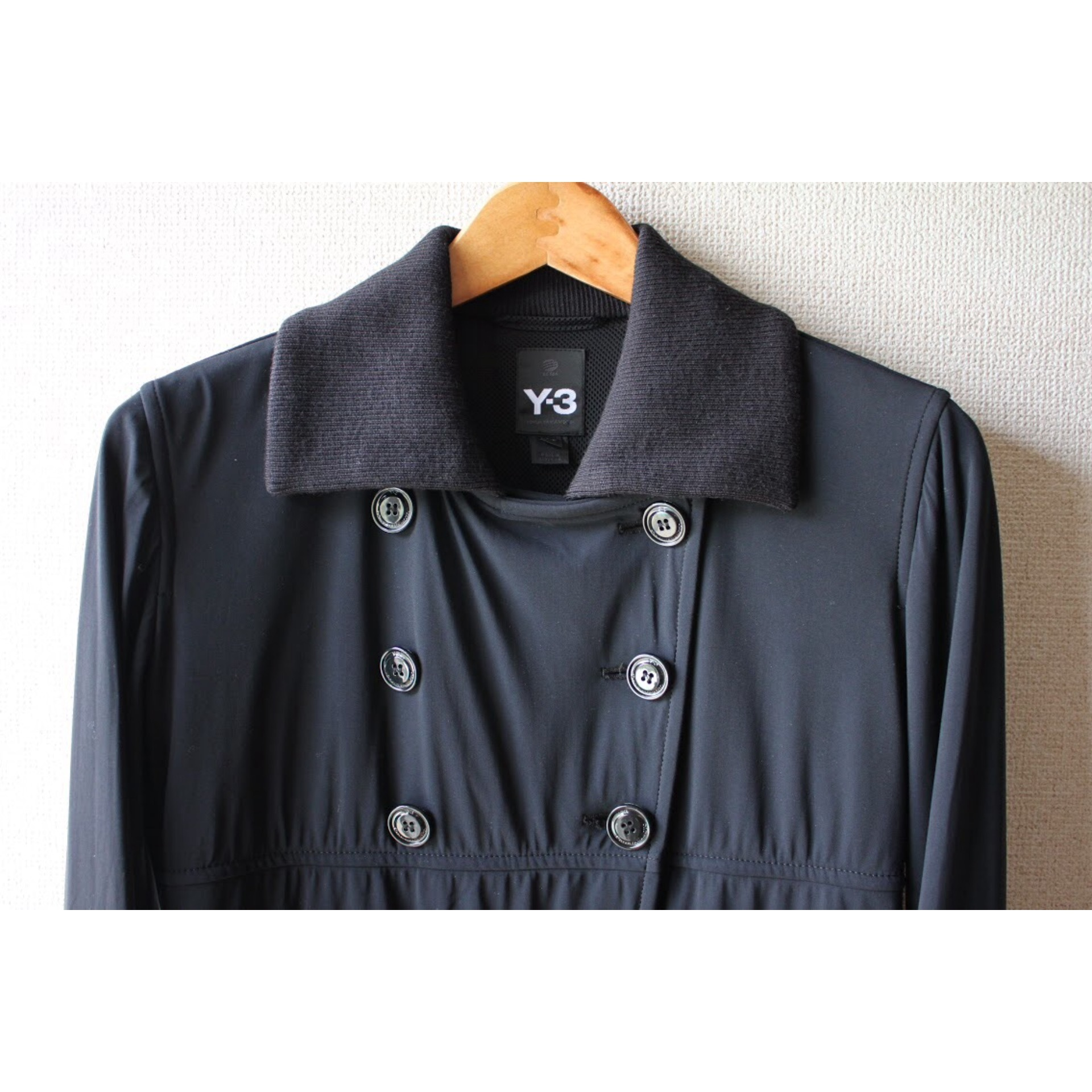 Rib collar jacket by Y-3