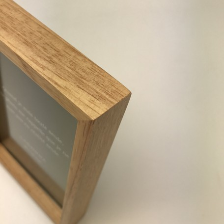 黒板付・木製フレーム(Lサイズ)