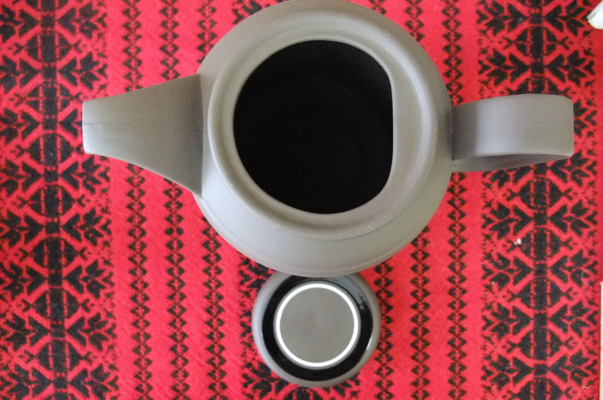 イギリス★ホーンジー★コントラストのコーヒーポット