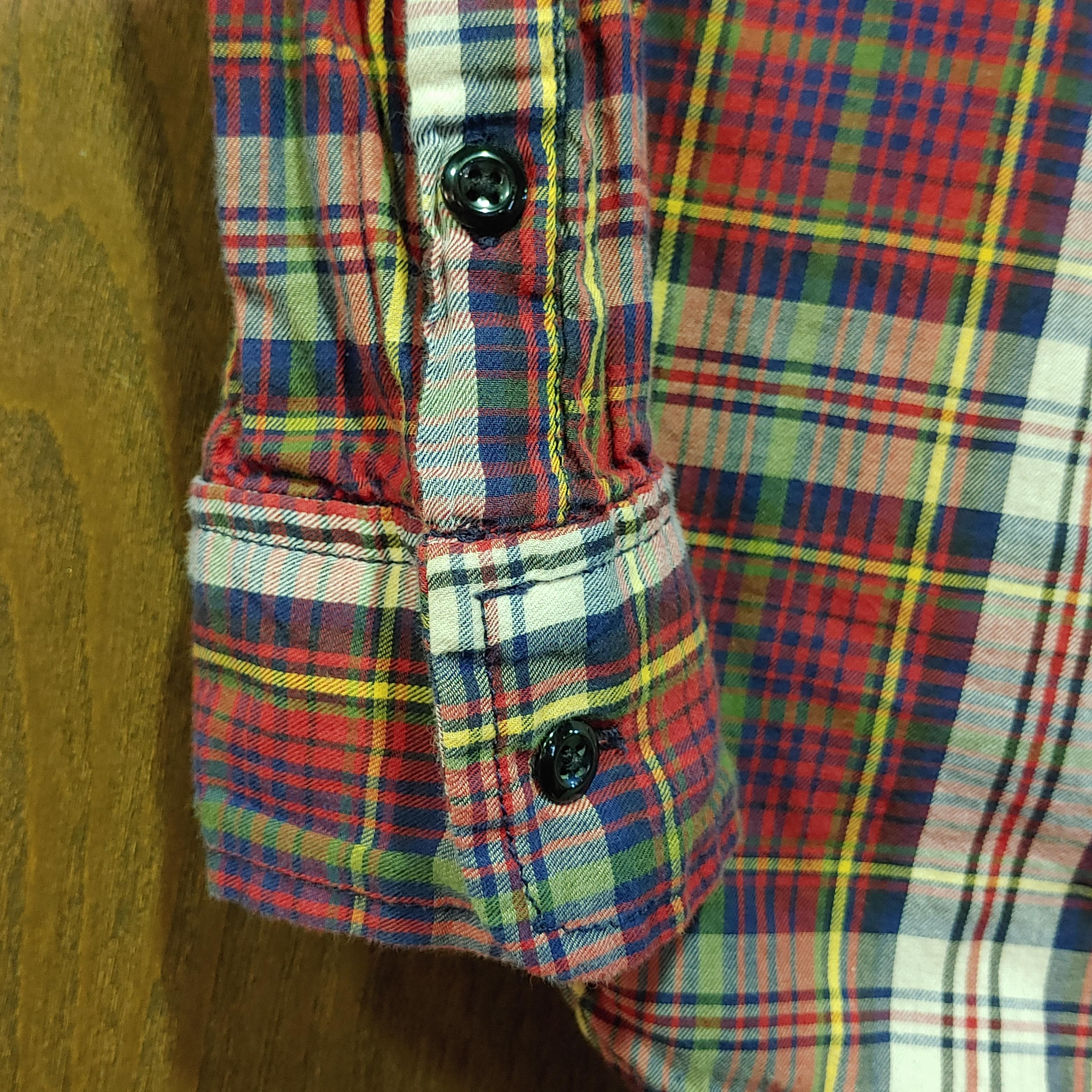 【W's USED】DENIM & SUPPLY L/S Check Shirts