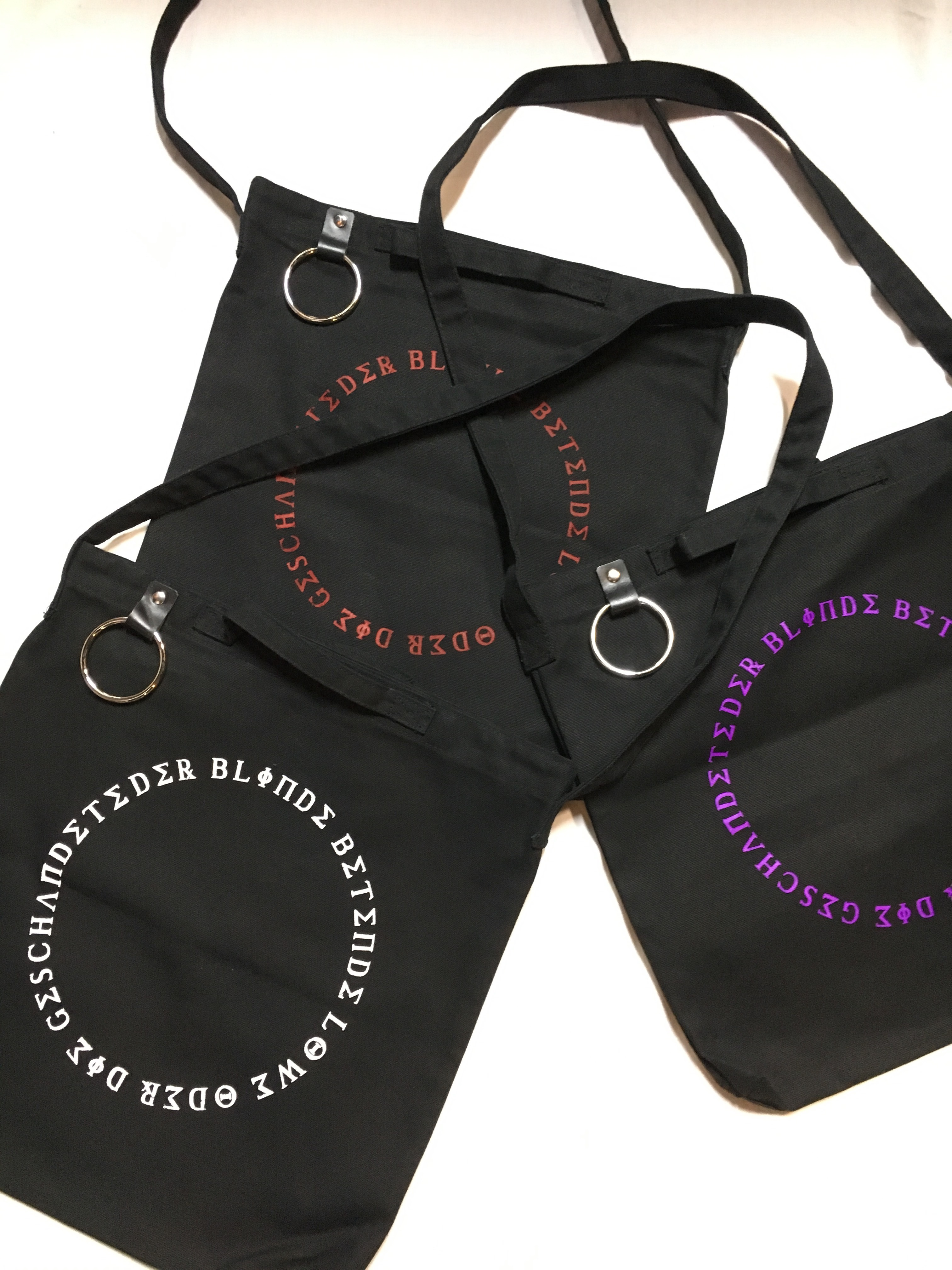 ANALYSE/ring tote bag - 画像1
