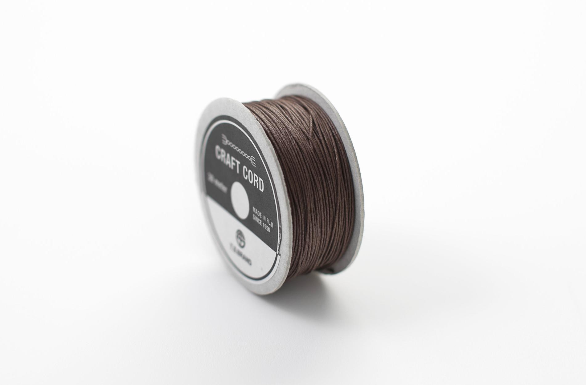WAX CORD/ BROWN/ 0.5㎜/ 30meter