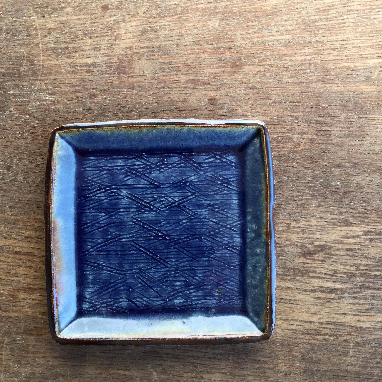 【蓮見かおり】 角皿 Φ14.5㎝×14.5cm 12 - 画像1