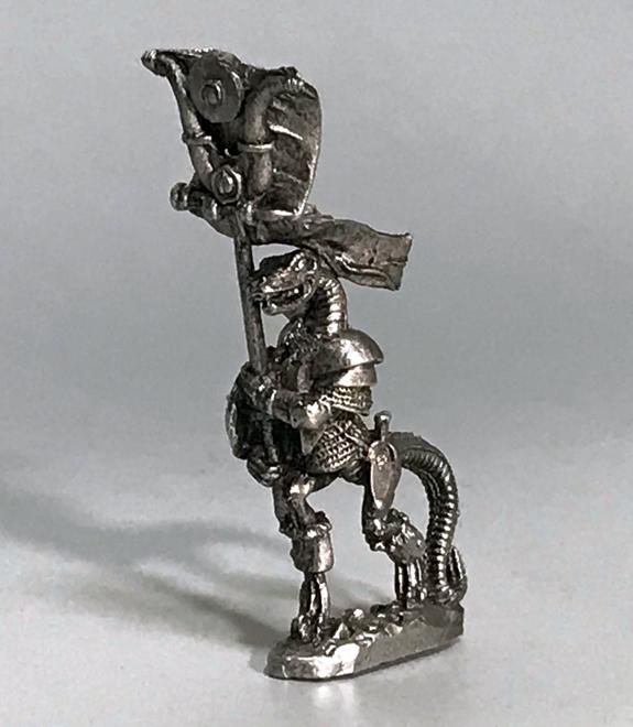 リザードマンの神官、軍旗手、楽士(3体) - 画像4