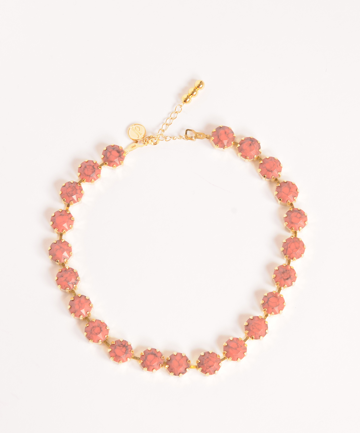 df19AW-J23 STONE LANE NECKLACE (gold)