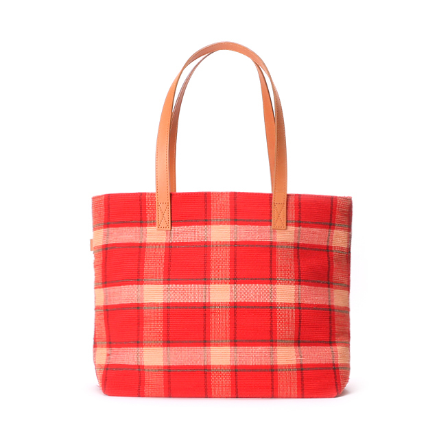 Bag Large / Red × Beige : 2110100200809