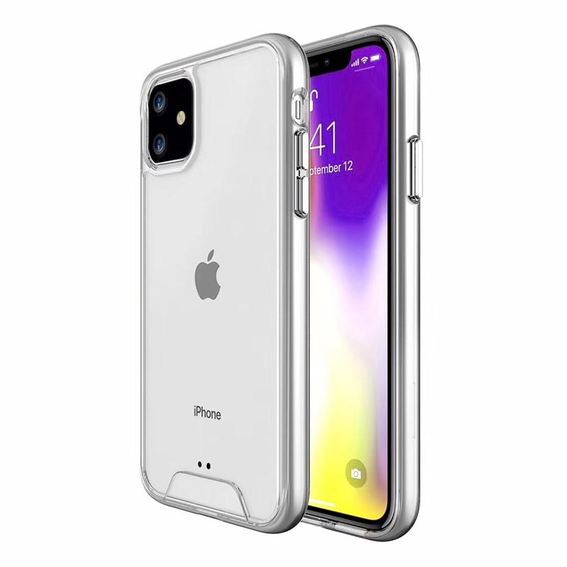 【お取り寄せ商品、送料無料】シンプル クリア 透明 ハード iPhoneケース iPhone11