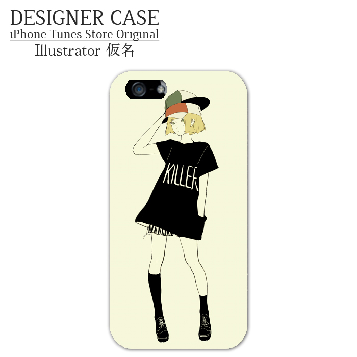 iPhone6 Soft case[KILLER] Illustrator:kamei