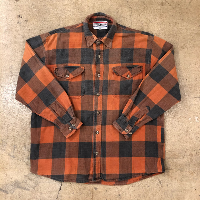 Buffalo Check Flannel Shirts ¥5,900+tax