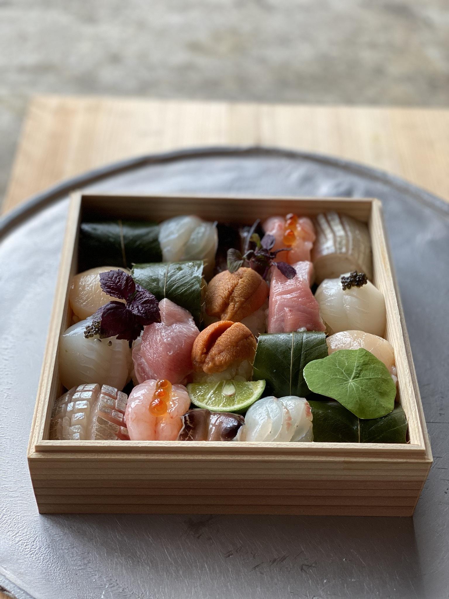 緑雨の手毬寿司 一段 発送◎