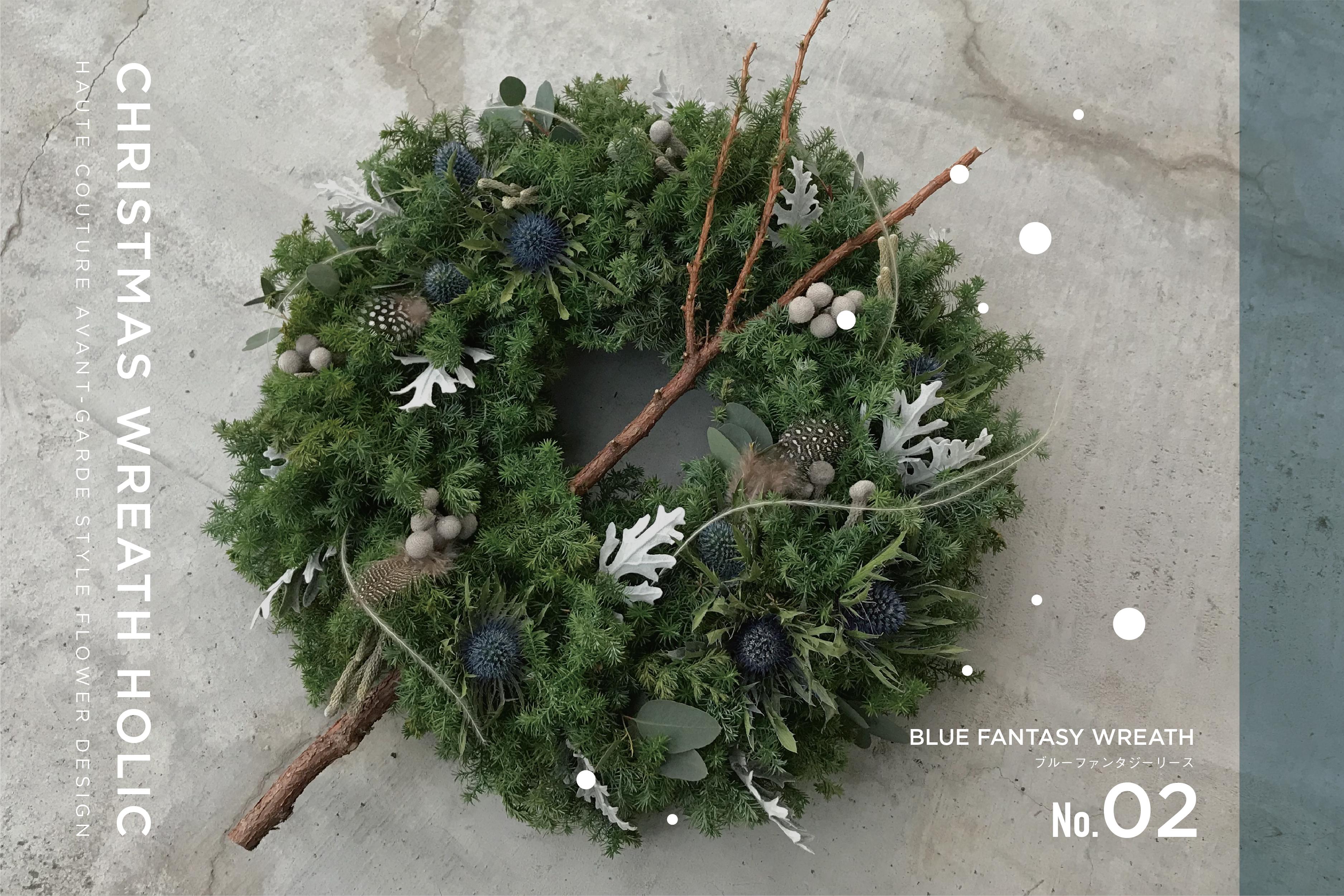 CHRISTMAS WREATH HOLIC/size:LL