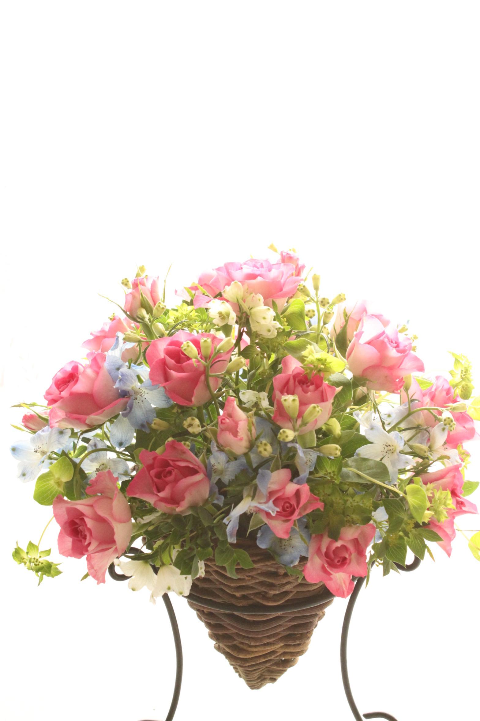 生花のオーダーアレンジメント 40cm~50cm