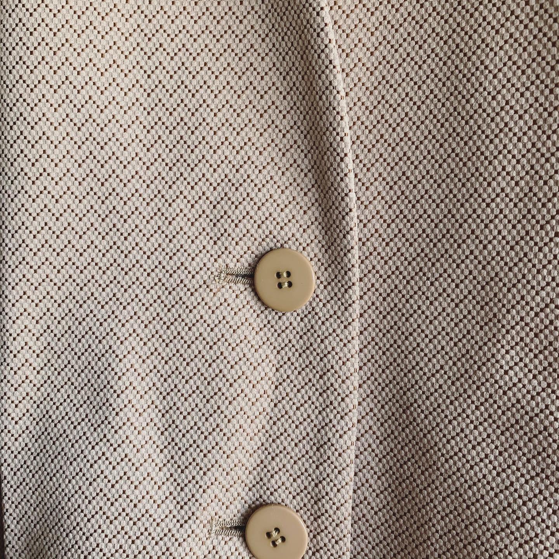 【SALE】vintage no collar jacket