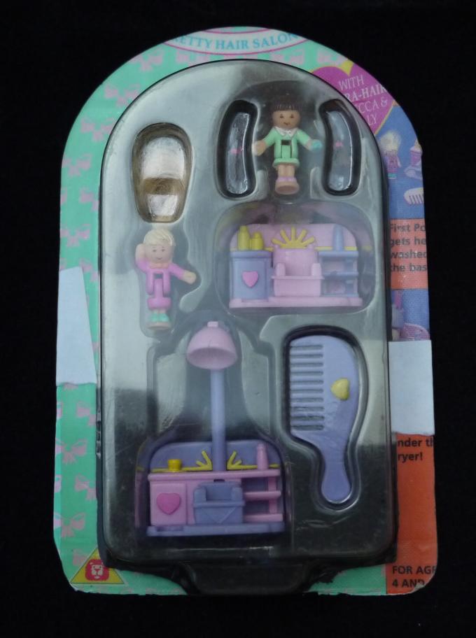 ポーリーポケット プリティーヘアーサロン 95年 ケース付き美品完品