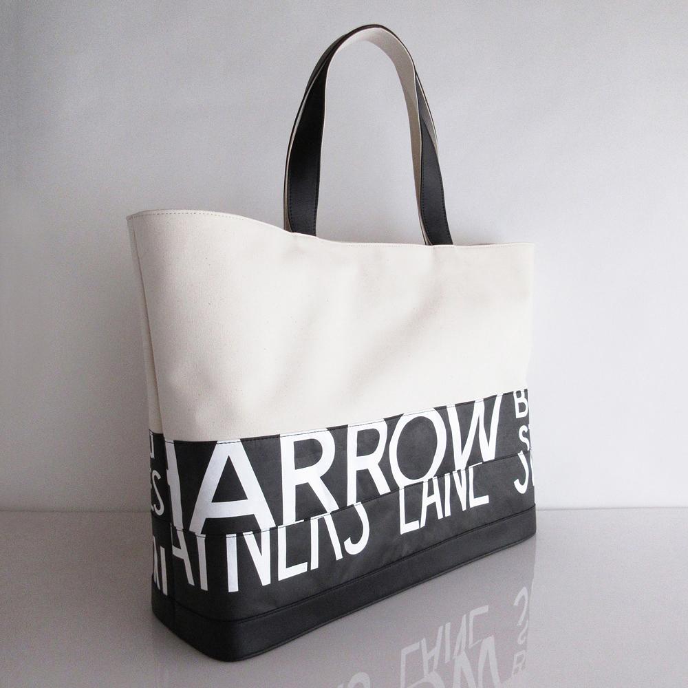 Tote Bag (L) / White  TLW-0011