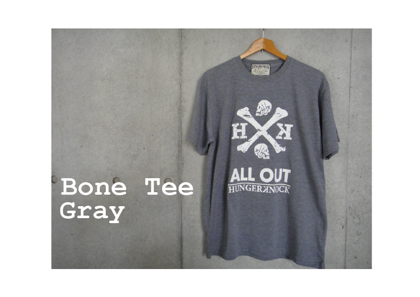 BoneTee / Gray
