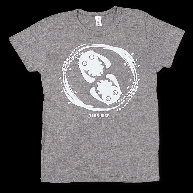 ピノキオピー 銀シャリTシャツ(レディース/玄米バージョン) - 画像1
