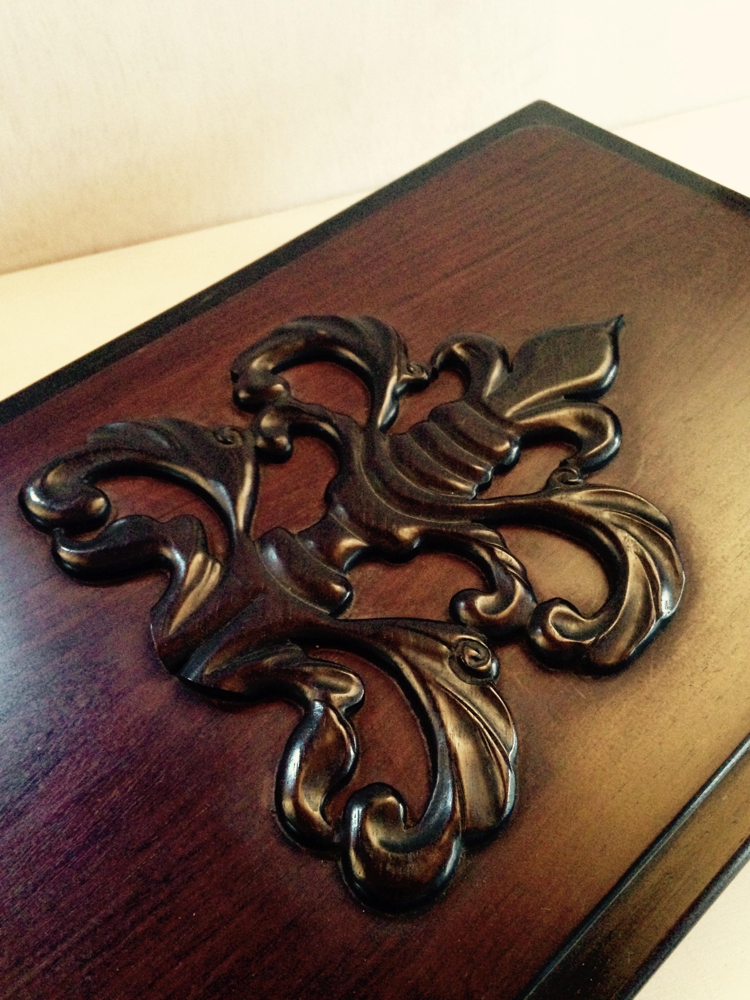 Wood box (黒檀)