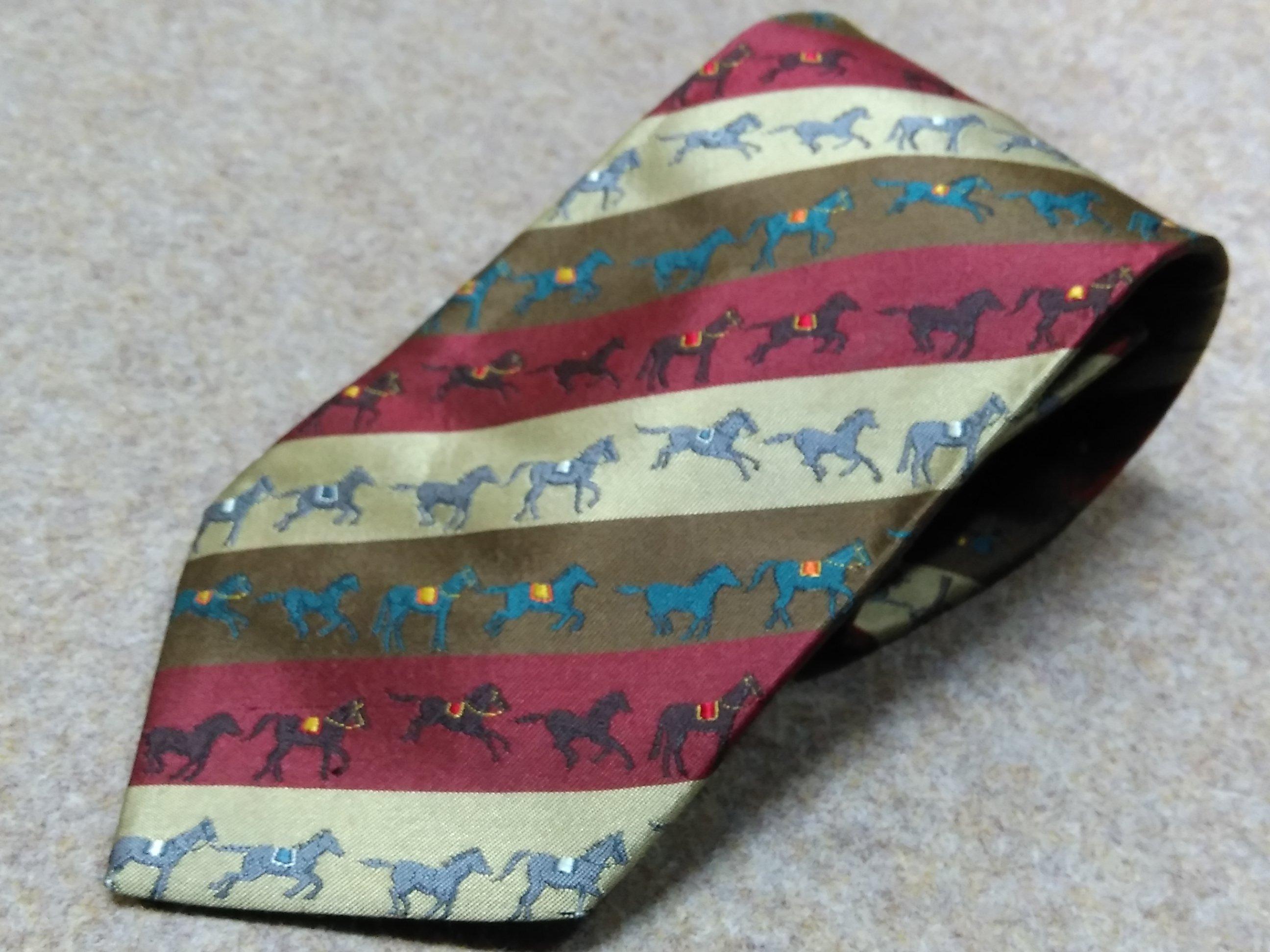 銀座 田屋 TAYA 絹 ネクタイ 日本製 馬 mu452s