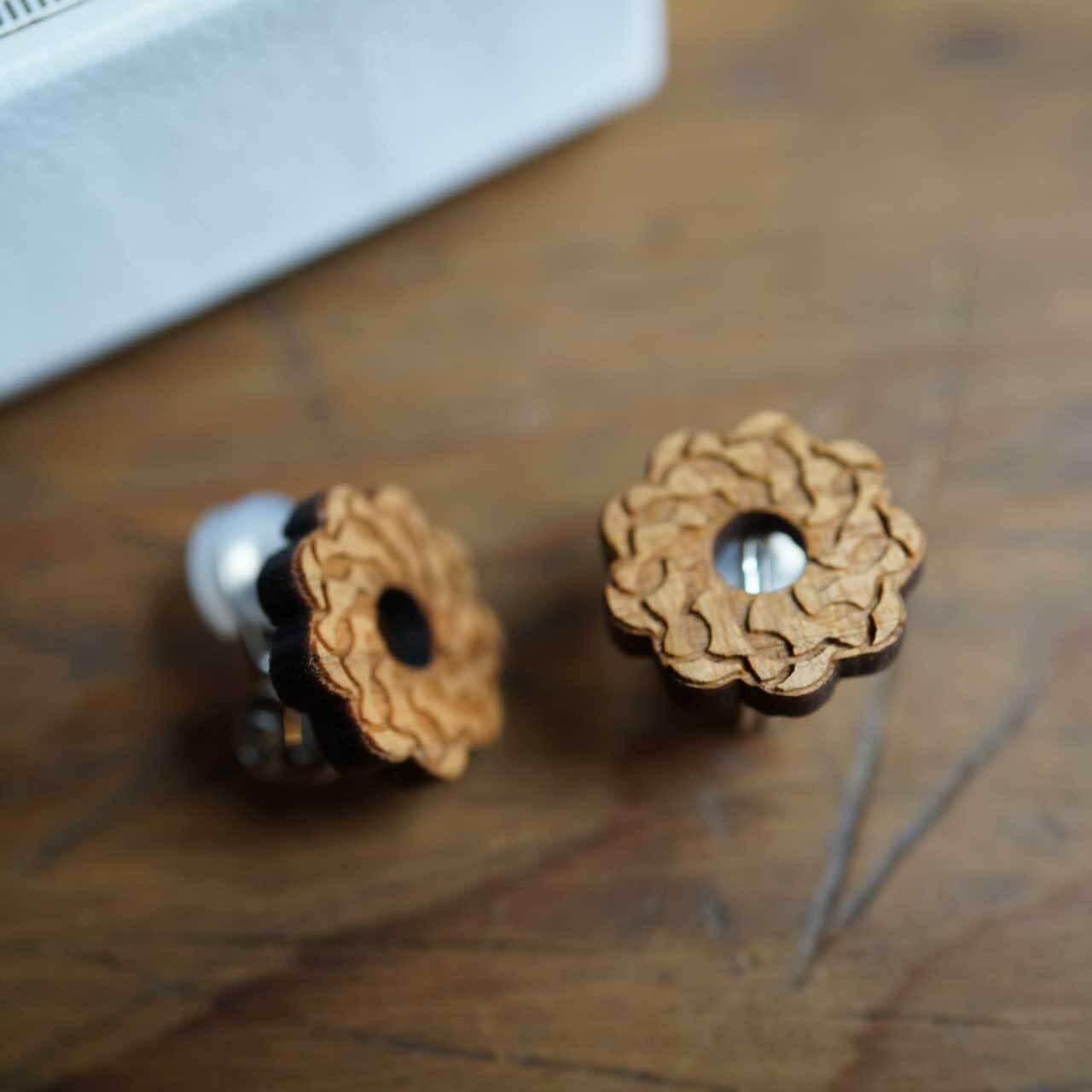 round and round / ぐるぐる(Pierced Earring)