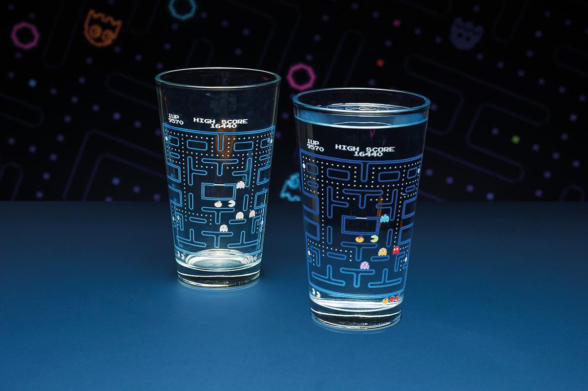PAC MAN COLOUR CHANGE GLASS  (パックマン カラーチェンジ グラス) / Paladone