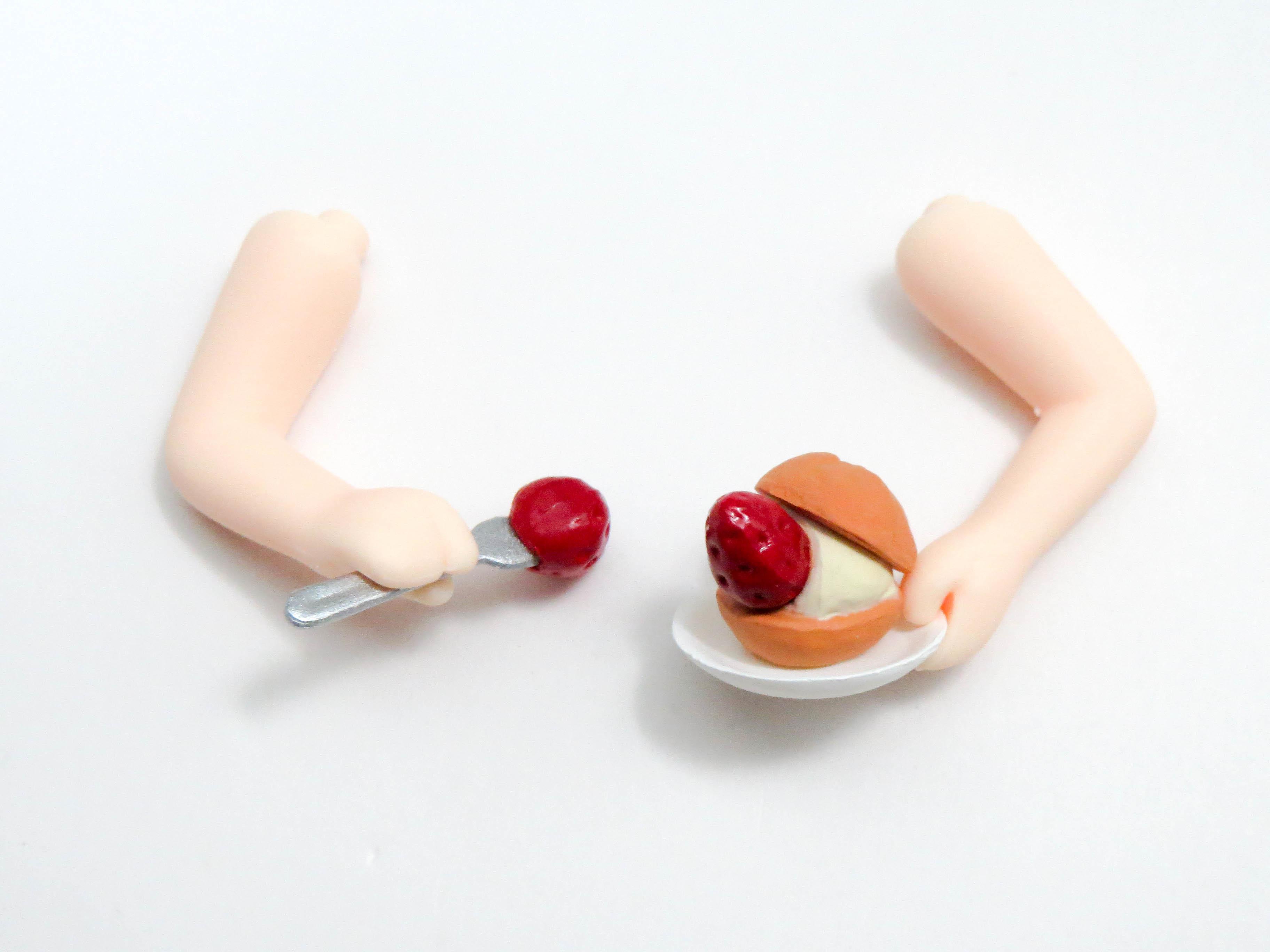 再入荷【658】 リモ 小物パーツ ケーキとフォーク ねんどろいど